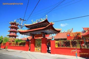 Klenteng Hoo Tong Bio Kelurahan Kertosari Kecamatan Banyuwangi Ho Terletak