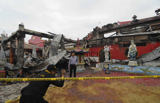 Persebaran Api Kebakaran Hoo Tong Bio Dirasa Janggal Diteliti Petugas