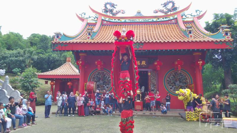 Ragam Barongsai Meriahkan Festival Imlek Banyuwangi Cendana News Klenteng Hoo