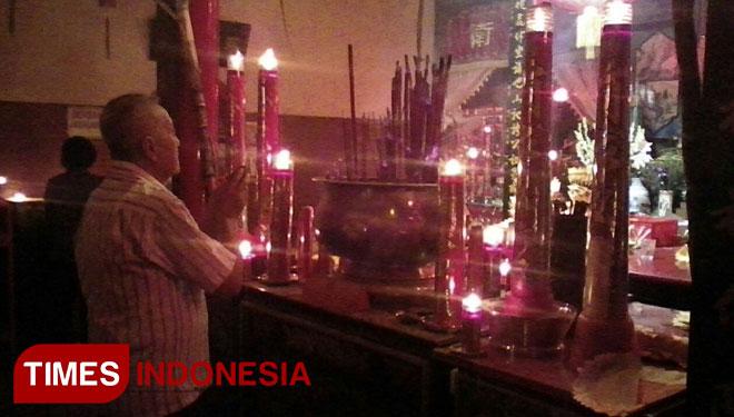 Sempat Terbakar Klenteng Hoo Tong Bio Mulai Ramai Times Kab