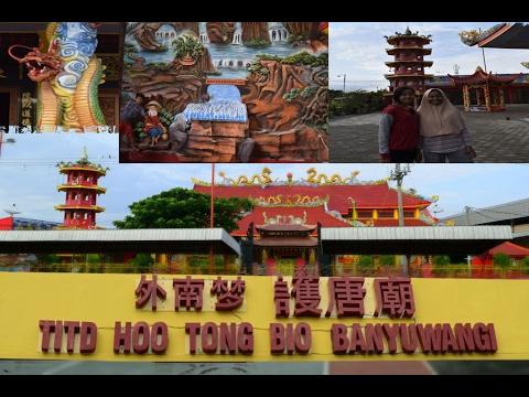 Sempat Terbakar Klenteng Hoo Tong Bio Tampil Wisata Religi Banyuwangi
