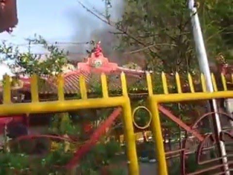 Video Kebakaran Klenteng Hoo Tong Bio Banyuwangi Youtube Kab