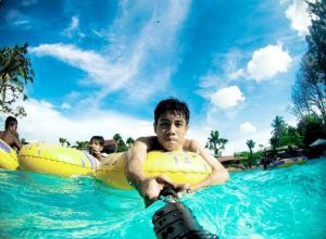 Argo Wisata Pemandian Pancoran Banyuwangi Kota Arah Selatan Pengunjung Mandi
