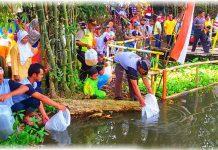 Wisata Pancoran Siap Hadapi Liburan Sekolah Tebar Ribuan Benih Ikan