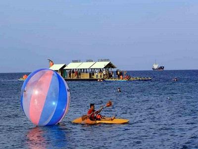 10 Gambar Pantai Bangsring Lokasi Banyuwangi Tiket Masuk Tabuhan Bangsri