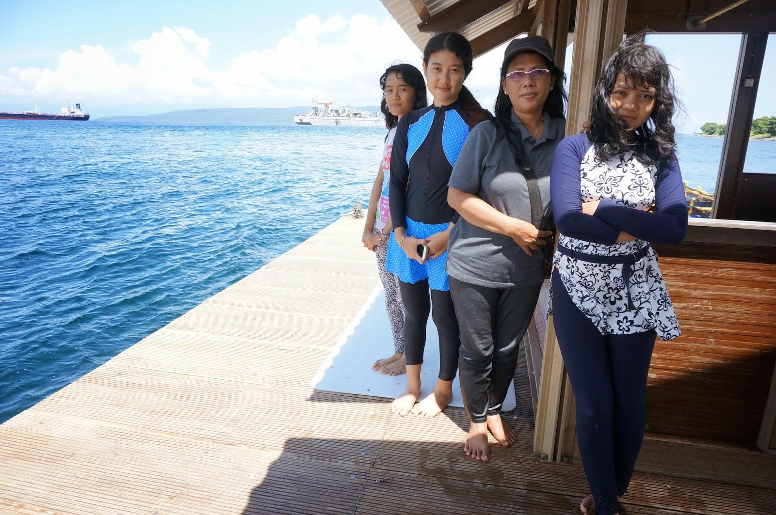 Jalan Pulau Tabuhan Banyuwangi Rumah Apung Pantai Bangsring Kab