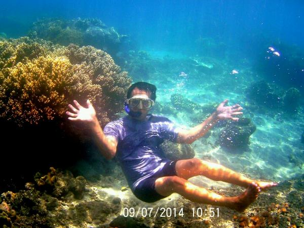 Kabupaten Banyuwangi Twitter Wow Ennochap1 Adadibanyuwangi Underwater Snorkeling Pantai Bangsring