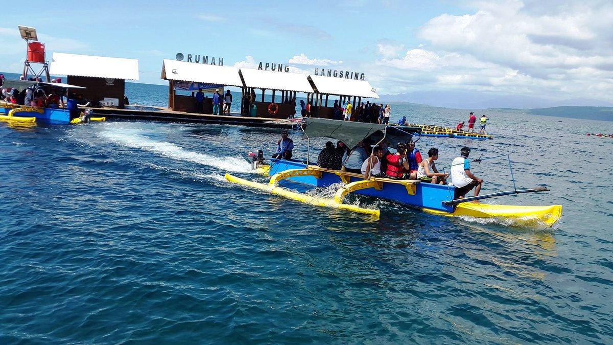 Paket Wisata Banyuwangi 2h1m Pantai Bangsring Trip Kab