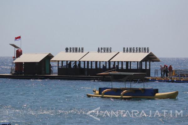 Wisata Pantai Bangsring Antara News Jawa Timur Kab Banyuwangi
