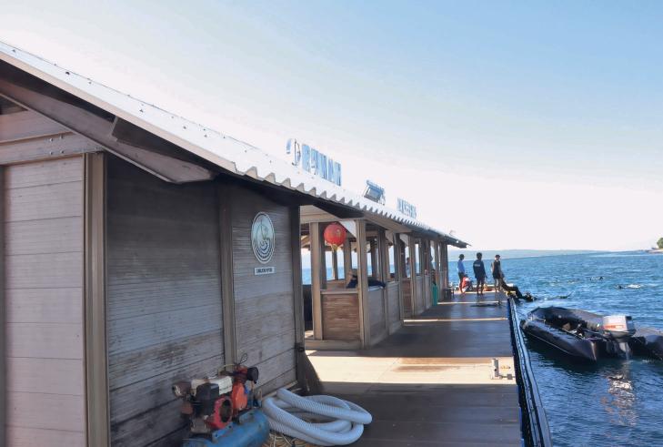 Wisata Pantai Bangsring Banyuwangi Visit Jatim Wonderful Kab