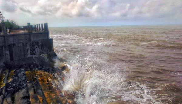 Cuaca Laut Tak Menentu Nelayan Blimbingsari Takut Melaut Perairan Pantai