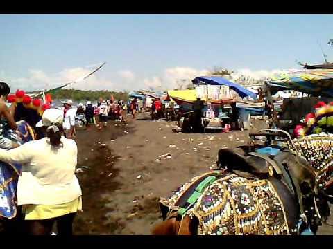 Pantai Blimbingsari Banyuwangi Waktu Lebaran Youtube Kab
