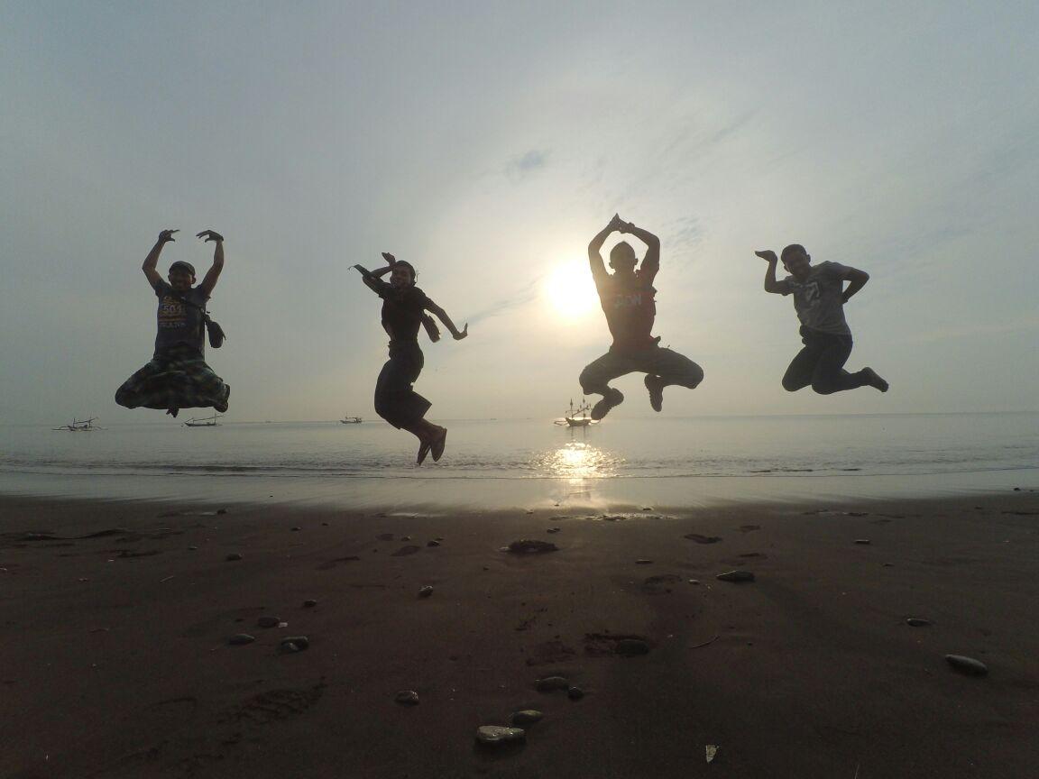 Pantai Blimbingsari Sunrise Tertunda Esok Hari Nanti Banyuwangi Beginilah Melupakan