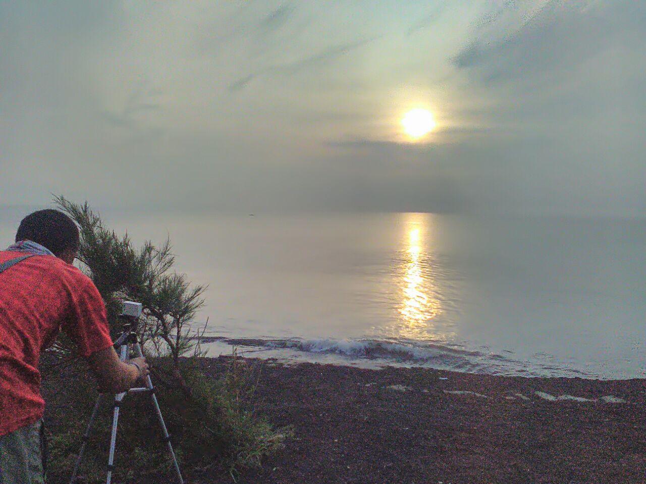 Pantai Blimbingsari Sunrise Tertunda Esok Hari Nanti Banyuwangi Kab