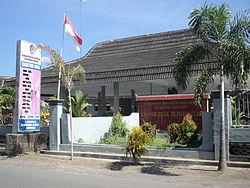 Blimbingsari Banyuwangi Wikipedia Bahasa Indonesia Ensiklopedia Peta Lokasi Kecamatan Kantordesablimbingsarirogojampibanyuwangi