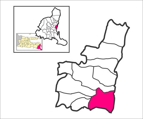 Bomo Blimbingsari Banyuwangi Wikiwand Peta Lokasi Desa Pantai Kab