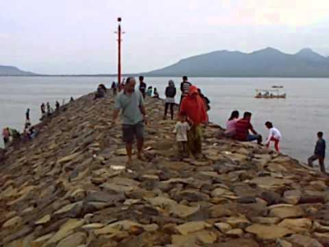 Wisata Pantai Boom Banyuwangi Youtube Bomo Kab