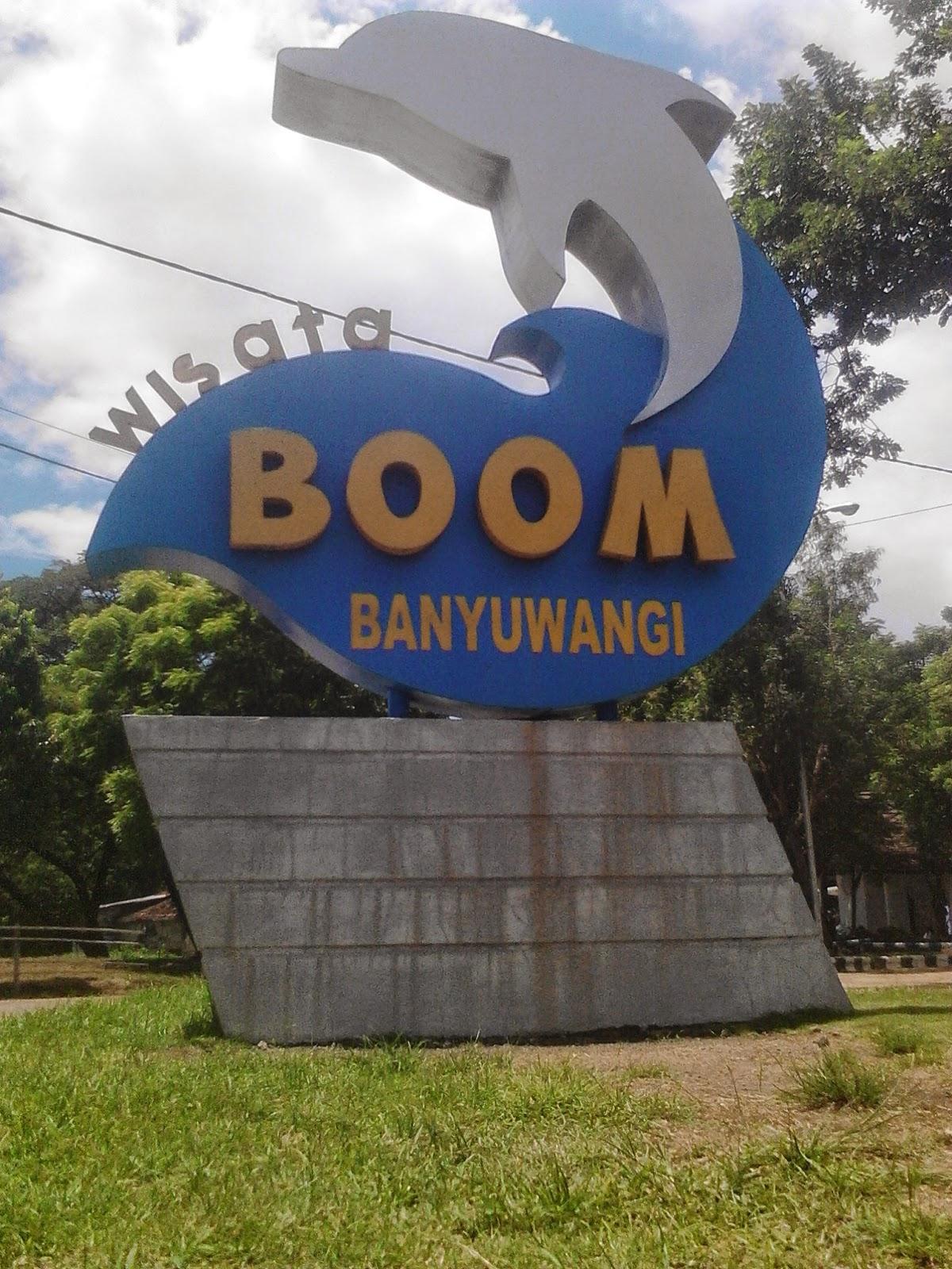 10 Foto Pantai Boom Banyuwangi Jawa Timur Lokasi Wisata Sejarah