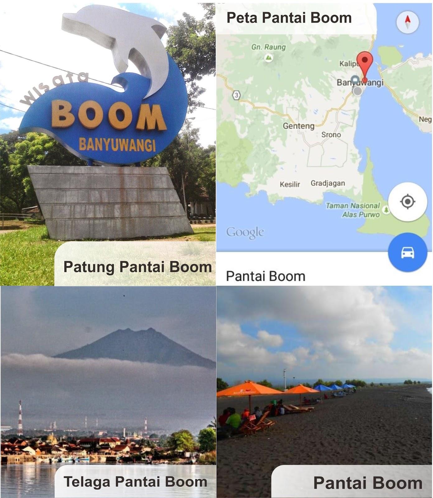 Coretan Kita Bersama Nama Pantai Kabupaten Banyuwangi Pembuatan Kapal Umbul