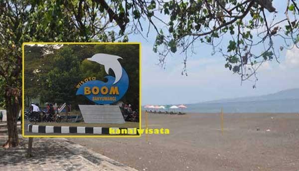 Wisata Bahari Pantai Boom Banyuwangi Sejarahnya Kab