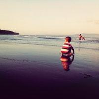 Pantai Cacalan Banyuwangi Jawa Timur Foto Diambil Oleh Wahyu 9