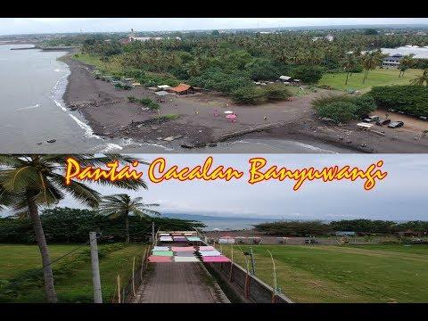Pantai Cacalan Banyuwangi Semilir Angin Selat Bali Alternatif Destinasi Wisata
