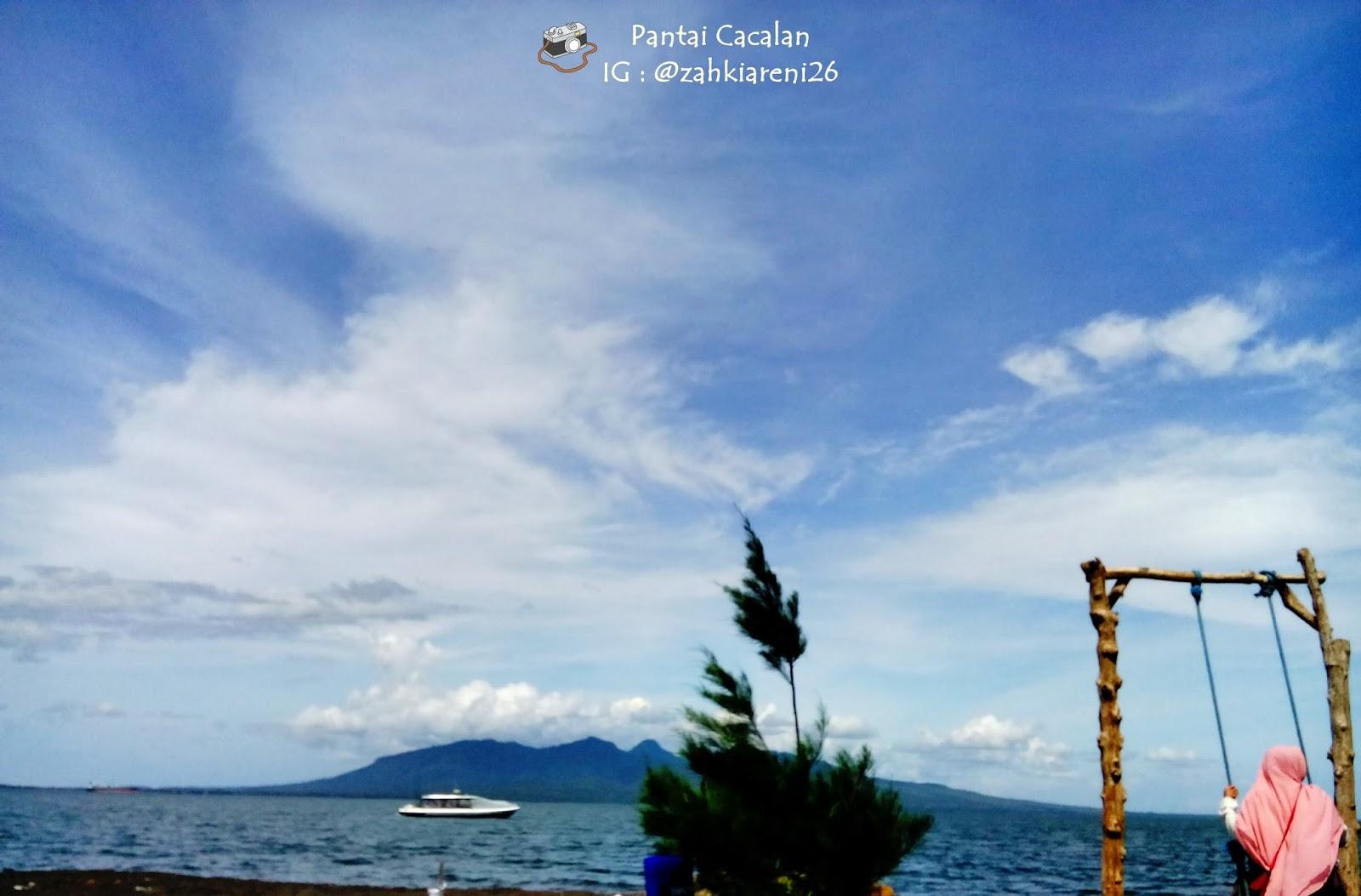 Pantai Cacalan Banyuwangi Semilir Angin Selat Bali Asli Suka Banget