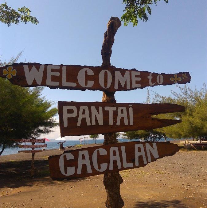 Pantai Cacalan Banyuwangi Tempat Wisata Dekat Kota 1 Beach Kab