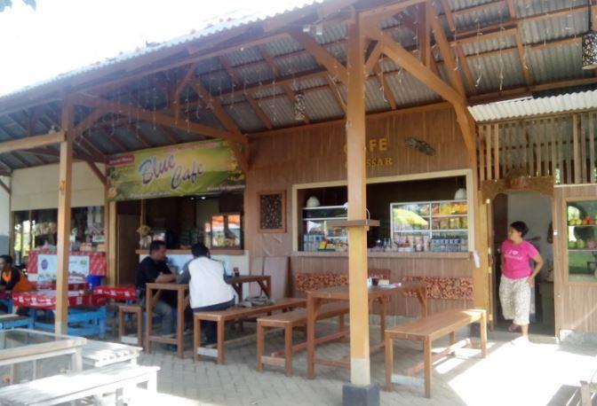 Rute Lokasi Pantai Cacalan Banyuwangi Pesona Cafe Kab