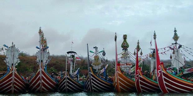 Keindahan Pantai Grajagan Banyuwangi Bagus Kapal Slerek Cantik Kab