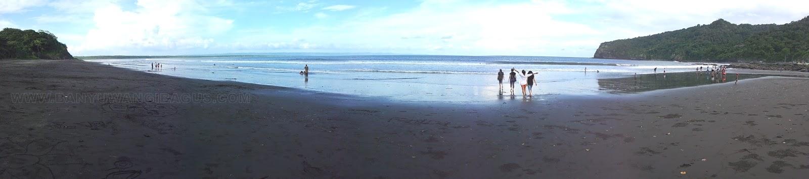 Keindahan Pantai Grajagan Banyuwangi Bagus Menuju Kab