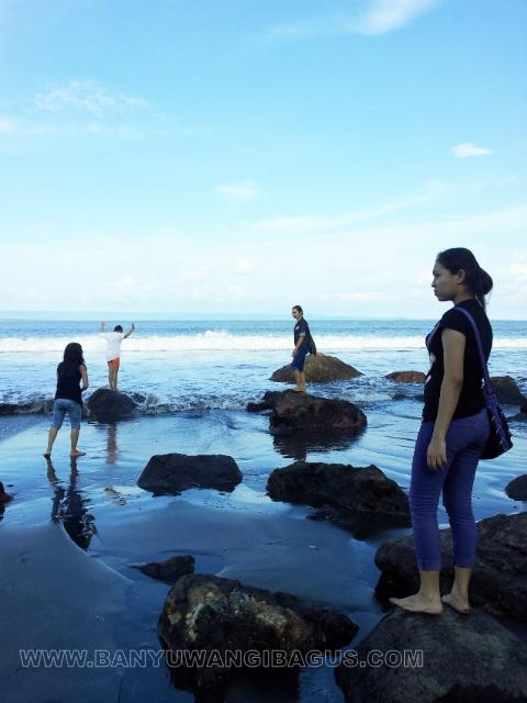 Keindahan Pantai Grajagan Banyuwangi Bagus Senja Kab