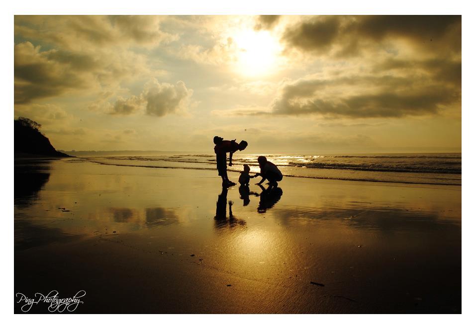 Keindahan Pantai Grajagan Banyuwangi Bagus Sunset Kab