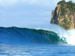 Menengok Kemegahan Ombak Pantai Plengkung Banyuwangi Yuk Piknik Sunrise Java