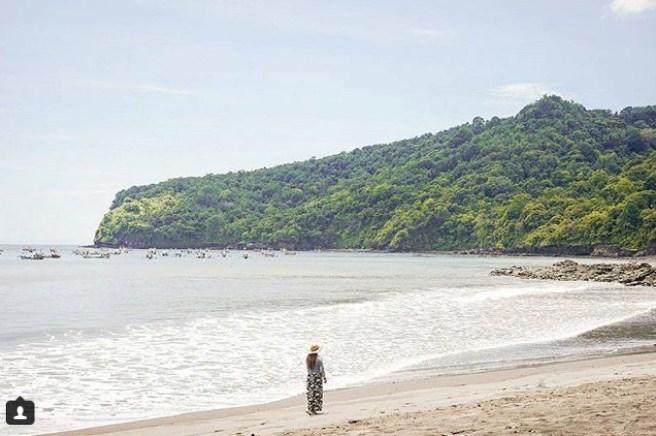 Pantai Grajagan Banyuwangi Kepala Watu Ulo Cektravel Info Kab