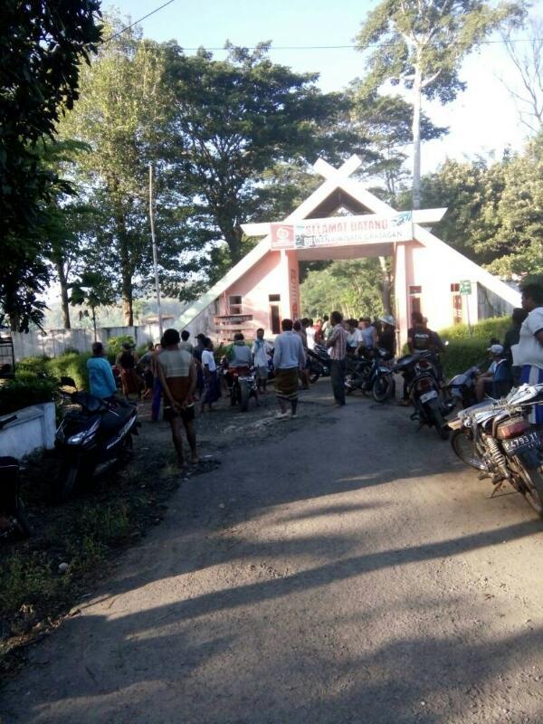 Polairud Dihadang Massa Pantai Grajagan Banyuwangi Sadap Media Sadapmedia Situasi