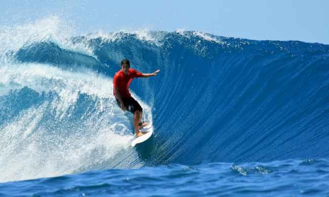 Surfing Pantai Plengkung Grajagan Banyuwangi Jawa Timur Indonesia Wisata Kab