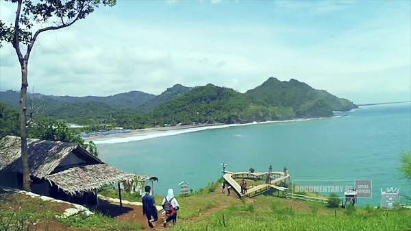 10 Gambar Pantai Lampon Kebumen Jawa Tengah Bukan Kabupaten Jembatan