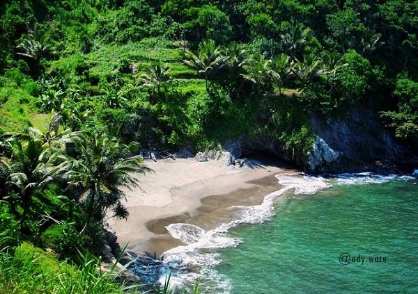 10 Gambar Pantai Lampon Kebumen Jawa Tengah Bukan Kabupaten Pemandangan