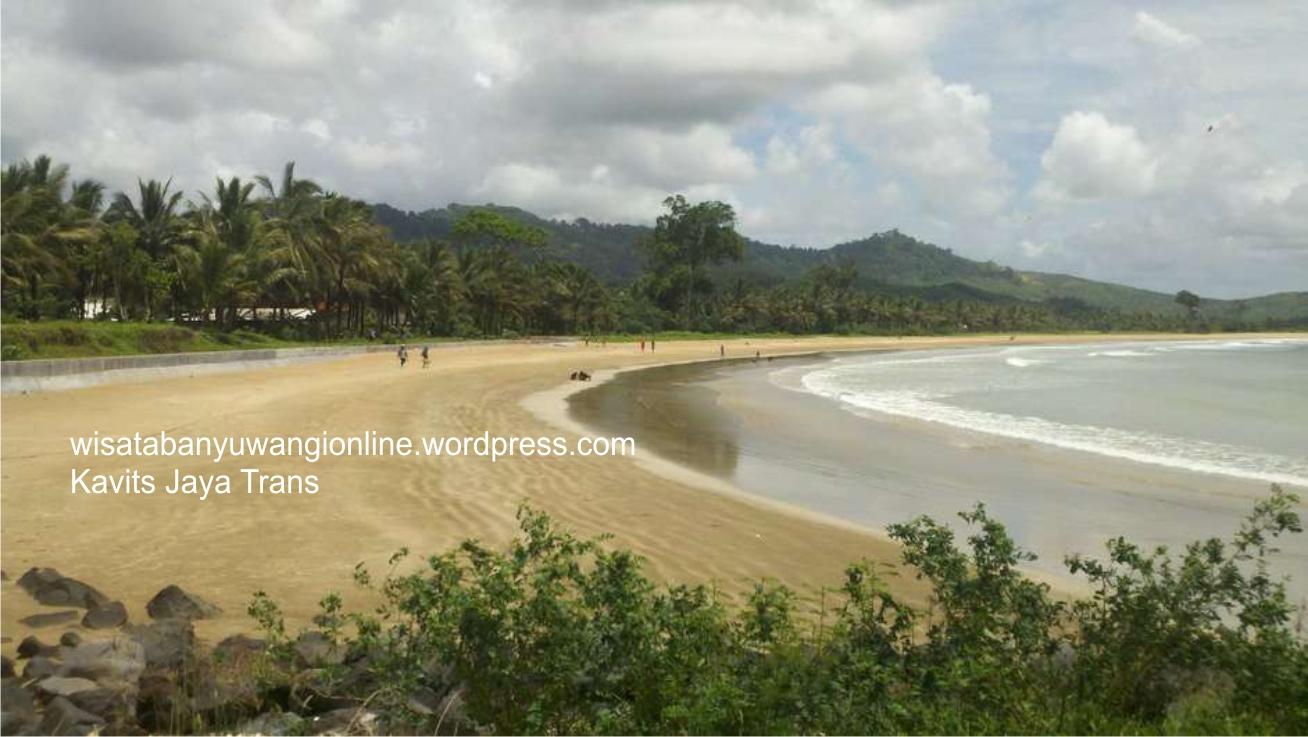 Pantai Pancer Banyuwangi Wisatabanyuwangionline Wisata Lampon Kab