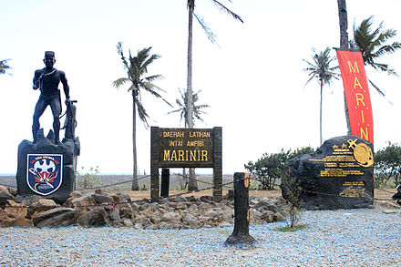 Pesanggaran Banyuwangi Wikiwand Monumen Mayanetra Yamadhipati Batalyon Intai Amfibi Pantai