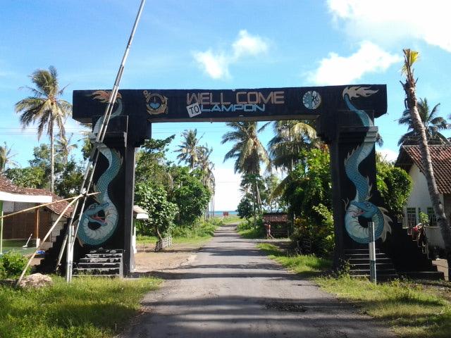 Sunrise Java Pantai Lampon Banyuwangi Jawa Timur Tepatnya Tarletak Desa