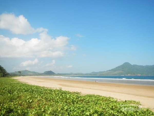 10 Gambar Pantai Mustika Banyuwangi Calon Primadona Jawa Timur Terdapat