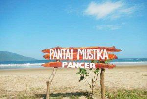 Keindahan Wisata Pantai Mustika Banyuwangi Mempunyai Pasir Datar Cukup Luas