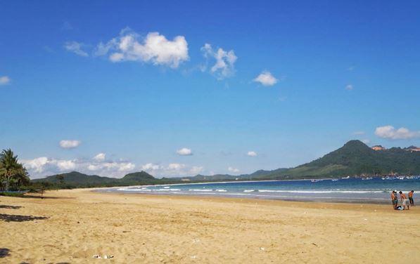 Mustika Banyuwangi Pantai Perawan Kotakwisata Keadaan Sekitar Kab