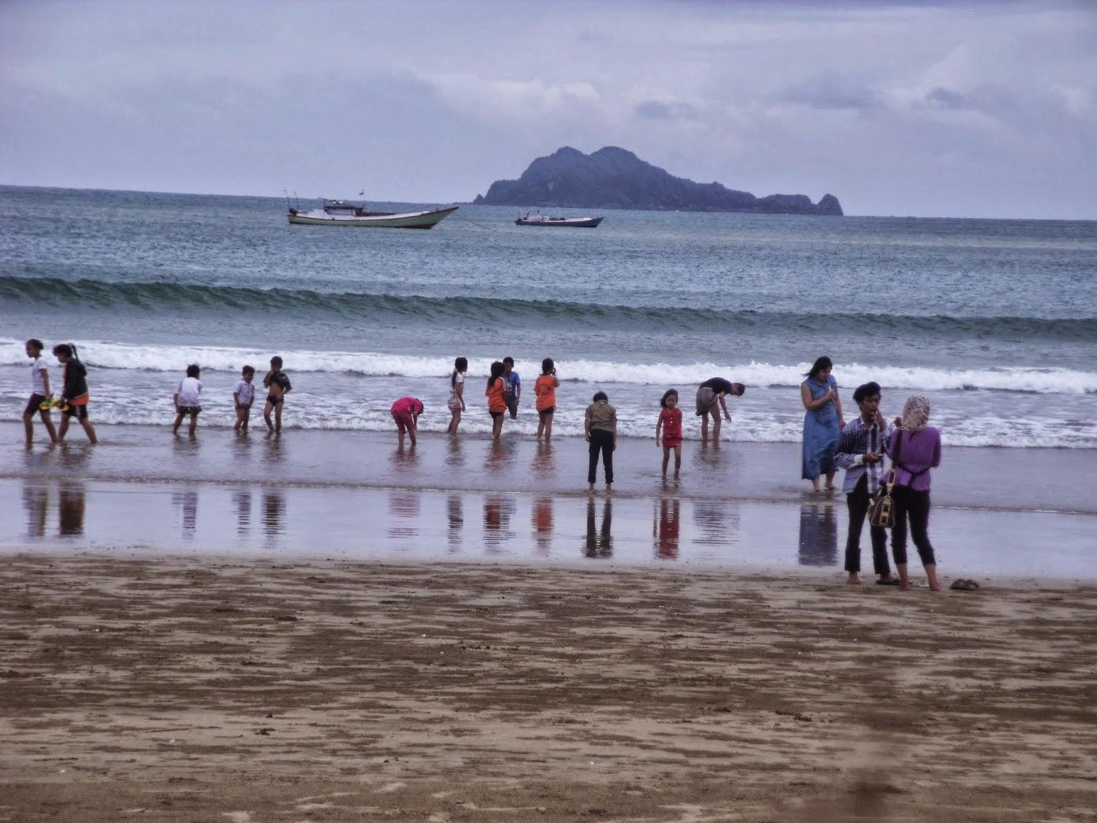 Pantai Mustika Pulau Mustaka Banyuwangi Bagus Pesanggaran Kab