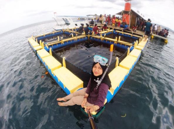 62 Tempat Wisata Banyuwangi Jawa Timur Terupdate Pantai Bangsring Palu