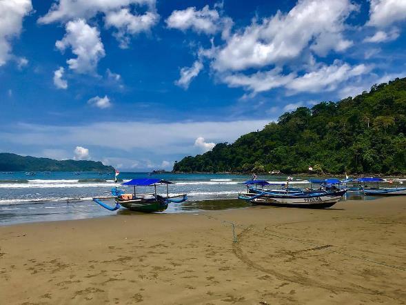 62 Tempat Wisata Banyuwangi Jawa Timur Terupdate Pantai Rajegwesi Palu