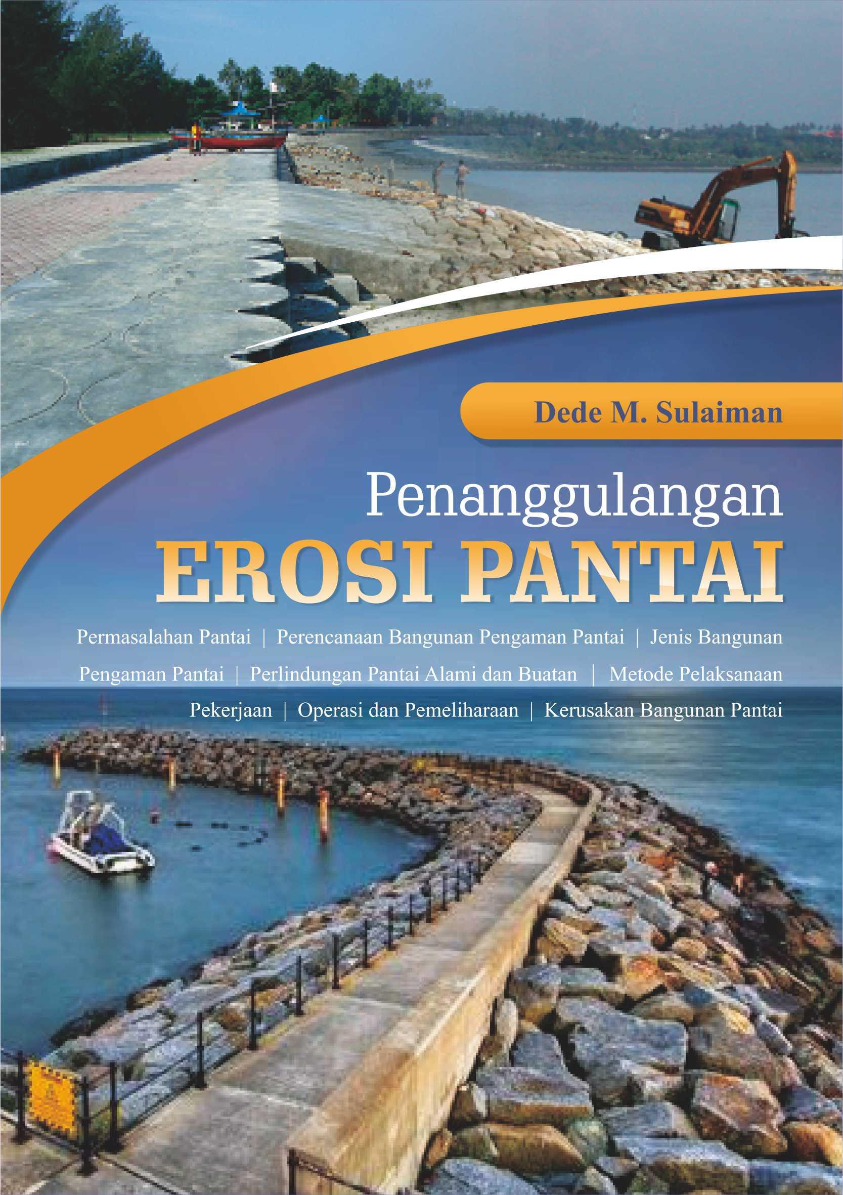 Buku Penanggulangan Erosi Pantai Penerbit Deepublish Palu Kuning Kab Banyuwangi