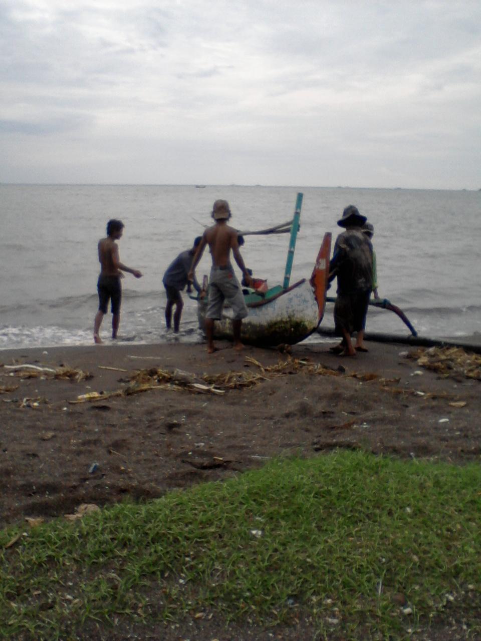 Kampung Mbrasan Nelayan Desa Palu Kuning Masyarakat Hidup Tumbuh Berkembang